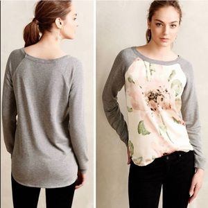 Anthropologie Ttee Winterbloom pullover